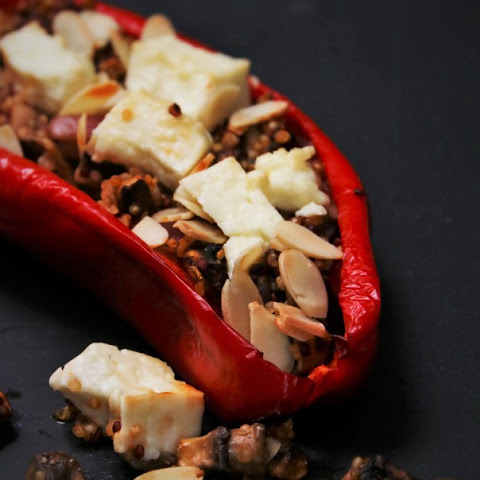 Quinoa stuffed Peppers (2 pers.)