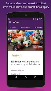 Download Full Nectar - Offers and Rewards 6.1.0 APK