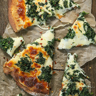 White Pizza Ricotta Spinach Recipes