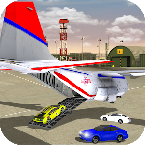 Airplane 3D Car Transporting