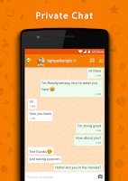 Screenshot of Chatimity - Chat about Topics