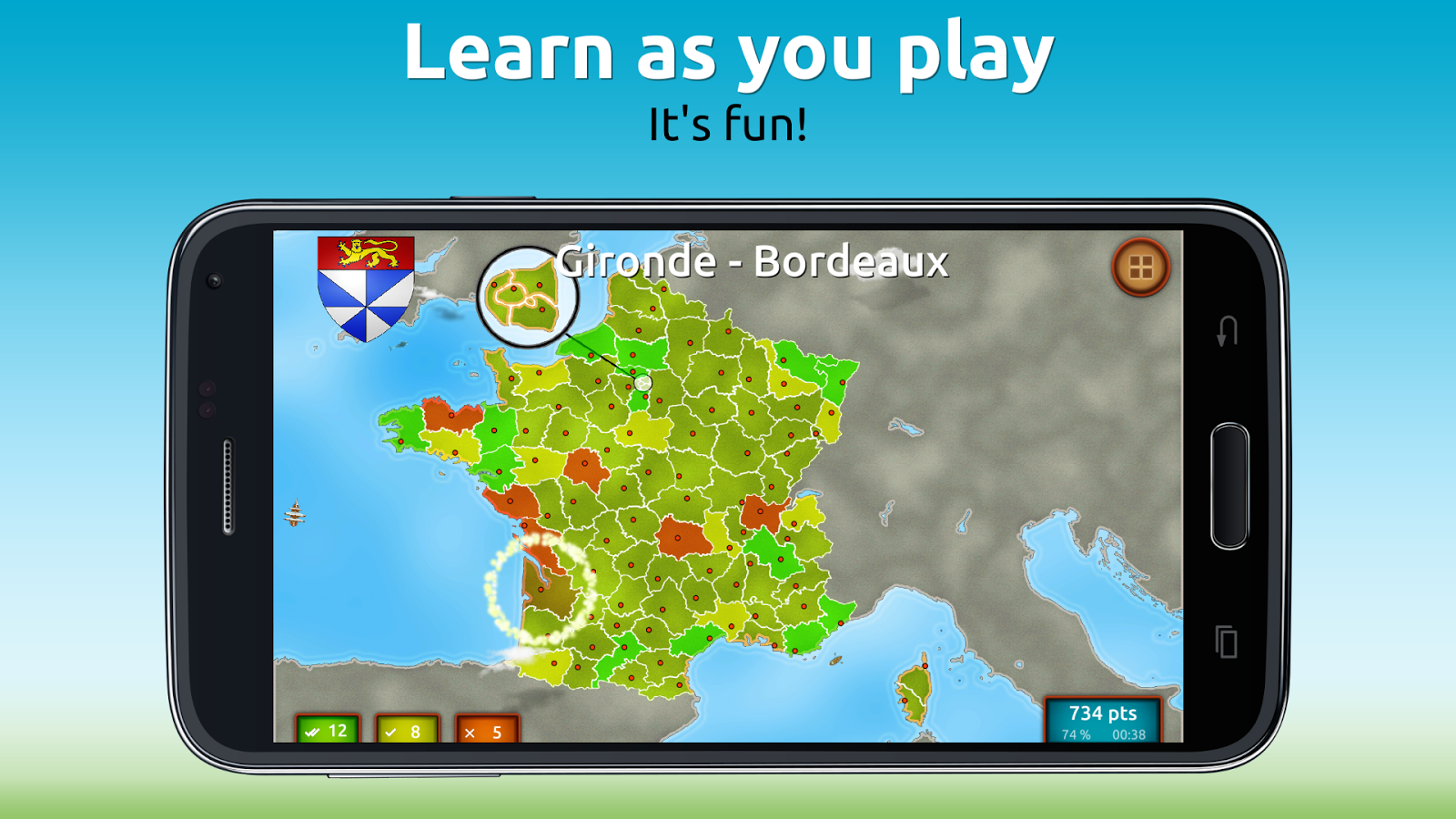 GeoExpert - France Geography Screenshot 1