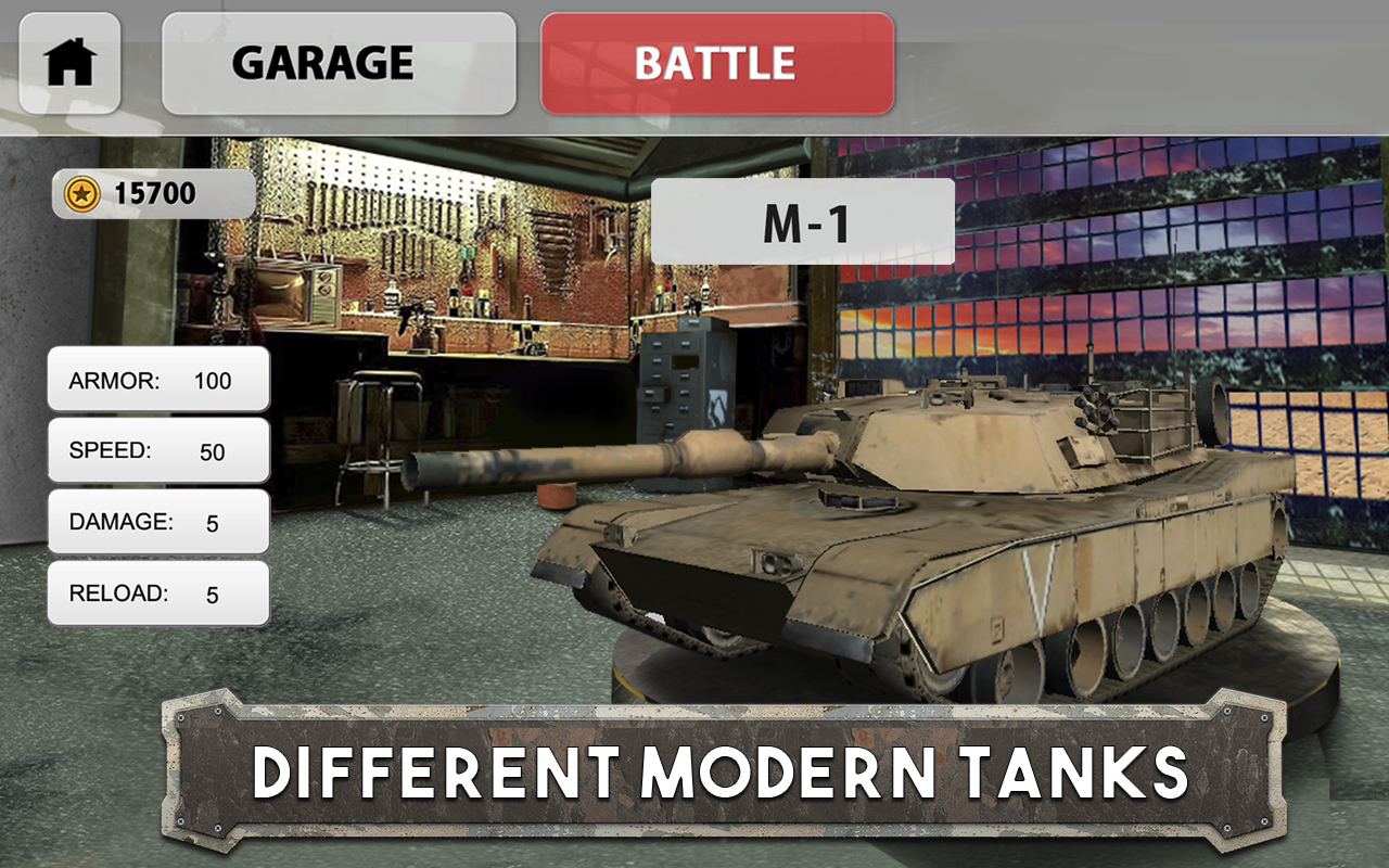 Tank Battle: Army Warfare 3D Screenshot 3