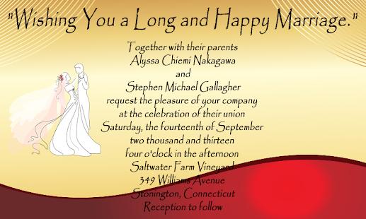 Wedding Invitation Design For Pc Windowac Apk Screenshot 4