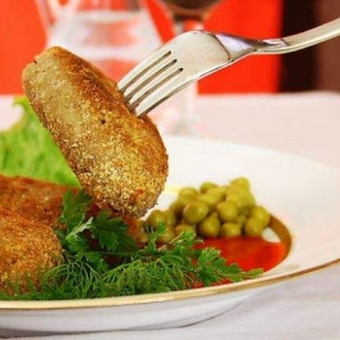 Beef And Potato Cutlets
