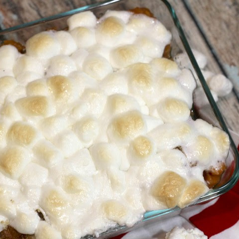 Candied Sweet Potato Casserole Christmas Side Dish