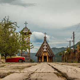 by Mario Horvat - City,  Street & Park  Street Scenes ( touristic, village, kustendorf, street, path, travel, drvengrad )