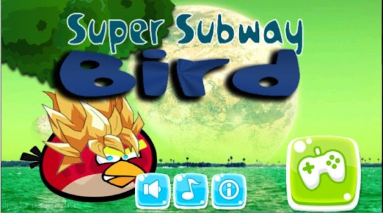super subway bird - screenshot