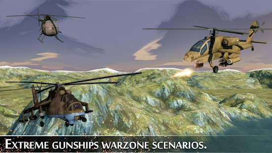 Military Helicopter War - screenshot