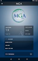 Screenshot of My MGA