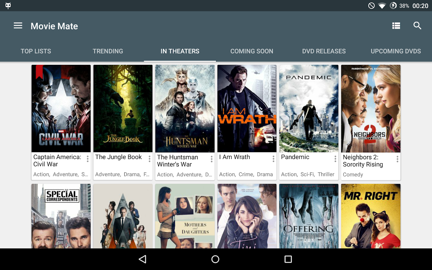 Movie Mate Pro Screenshot 10