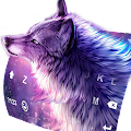 App Starry Wolf Delicate Keyboard Theme APK for Kindle