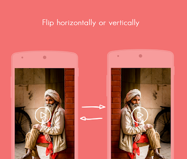 Video rotate, flip and save - screenshot
