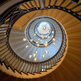 Staircase by Heather Aplin - Buildings & Architecture Architectural Detail ( staircases, staircase, spiral,  )