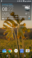 Screenshot of Transparent clock & weather
