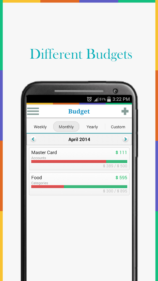 Expense Manager - My Budget Screenshot 3