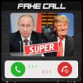 Fake call Putin and Trump APK for Bluestacks