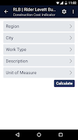 Screenshot of RLB Construction Intelligence
