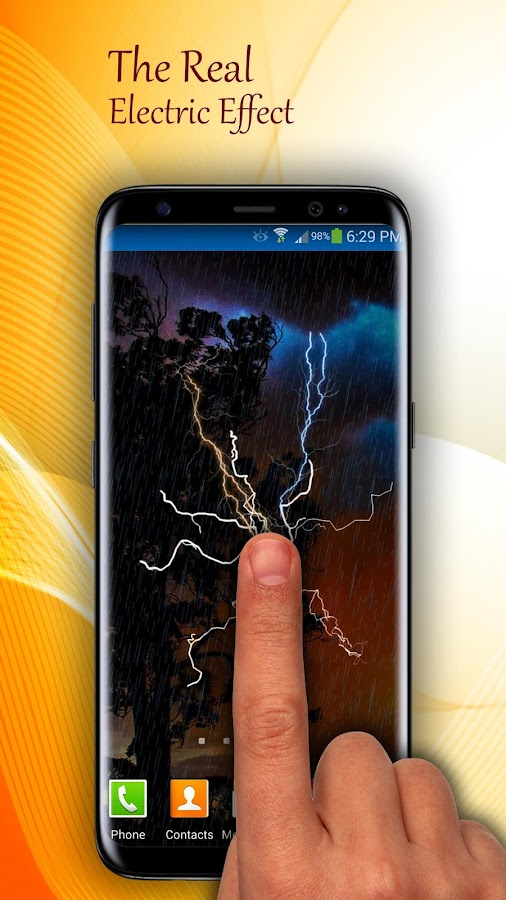 Elektrisches Live Wallpaper android apps download