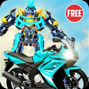 US Robot Bike Transform Shooting Game For PC / Windows 7/8/10 / Mac – Free Download