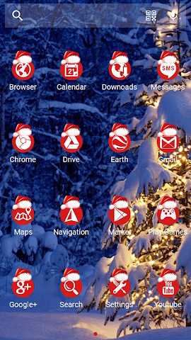 android Winter Tale - Solo Theme Screenshot 3