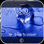 Water Drops Slider Lock APK for Bluestacks