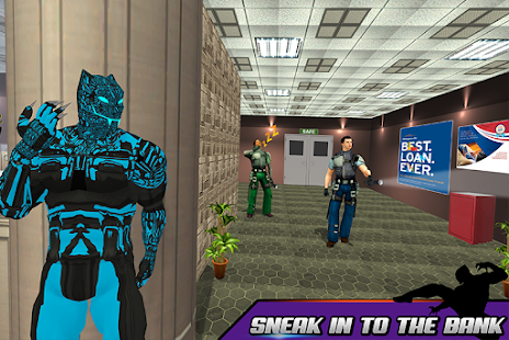 Super Panther Hero Bank Robbery: Crime City for pc