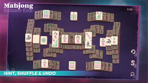 Mahjong Solitaire Elite - screenshot