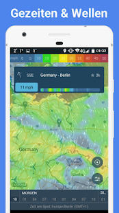 WINDY APP - Wind, Wellen, Gezeiten Screenshot