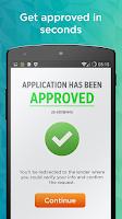 Screenshot of Payday Loans & Cash Advance