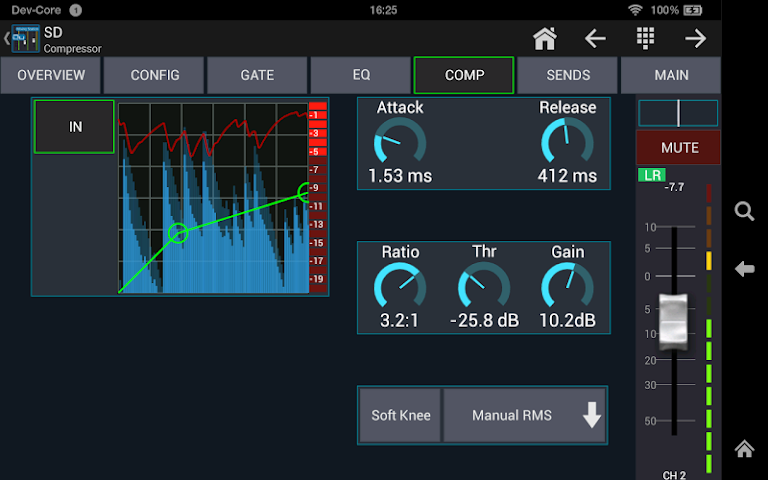android Mixing Station Qu Pro Screenshot 6