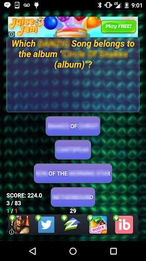 Trivia of Lucie Silvas Songs APK