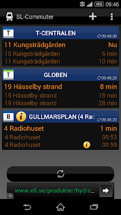 SL-Commuter - screenshot