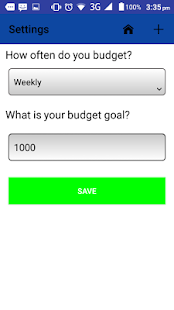 Simple Budget - screenshot