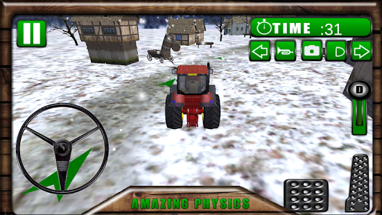 Farmer Tractor 3D Simulator - screenshot