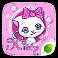Kitty GO Keyboard Theme APK for Bluestacks