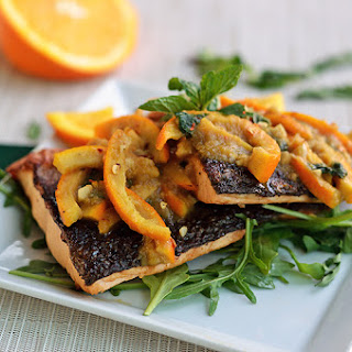 Orange Mint Salmon