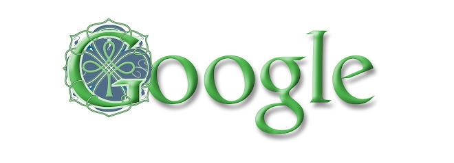 2004 St. Patrick's Day Google Doodle.