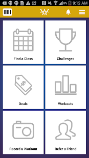 Wilmington Athletic Club - screenshot