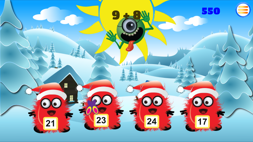 android Times Tables: Boo vs Monsters Screenshot 3