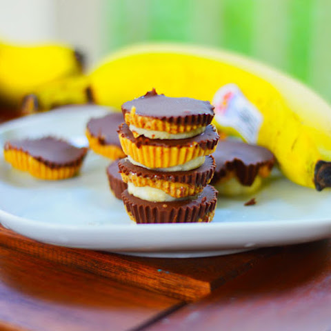 Chocolate Peanut Butter Banana Cups