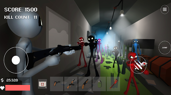 Stickman Combat Pixel Edition