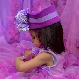 Flowergirl by Barbara Walsh - Babies & Children Children Candids ( funchal, pink, parade, flowergirl, madeira,  )