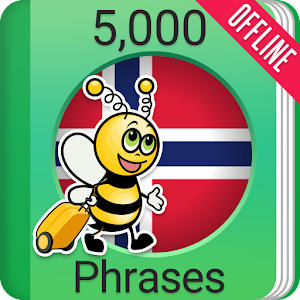 Learn Norwegian Phrasebook - 5,000 Phrases