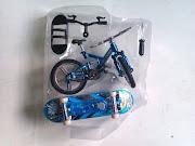 Finger sport: Bike + Скейт с Подсветкой 635A