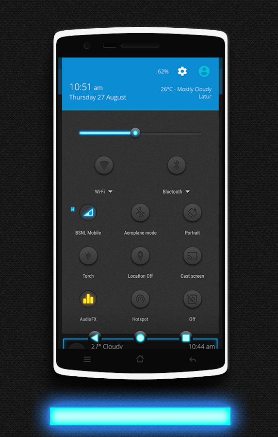 Glow CM13 CM12/12.1 Theme Screenshot 3