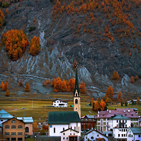Switzerland by Lilian Iatco - Landscapes Mountains & Hills ( car, happy, cloudy, day, travel,  )