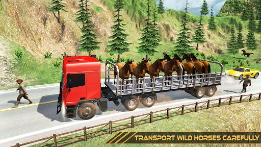 Horse Transport Truck Sim 19 -Rescue Thoroughbred screenshot 5