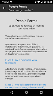 People Forms - screenshot