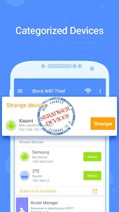 Block WiFi Thief Pro version - Ads Free! Screenshot